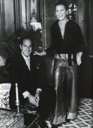 oscar-and-his-first-wife-francois-the-day-after-their-wedding-in-their-new-york-city-apartment