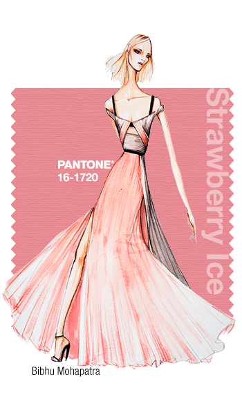 pantone strawberry ice