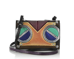 MCM - Roboter Mini Multicolor Leather Crossbody Bag