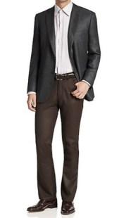 Brioni Herringbone Cashmere & Silk Jacket