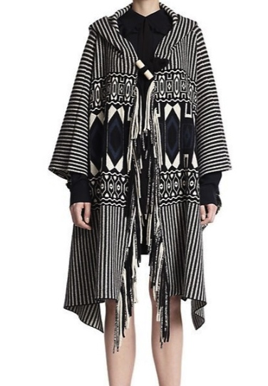 Chloe Felted Wool & Cashmere Cape Coat