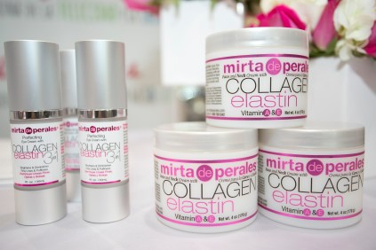 Mirta de Perales Perfecting Eye Cream with Collagen Elastin 3 in 1 y Collagen Cream
