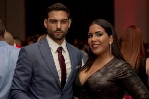 Gabriel Hernández y Michelle Santiago