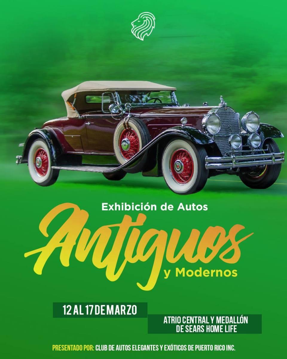 Postres y autos antiguos este fin de semana en Plaza del Caribe