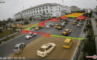 Анализ транспортного потока в Узбекистане