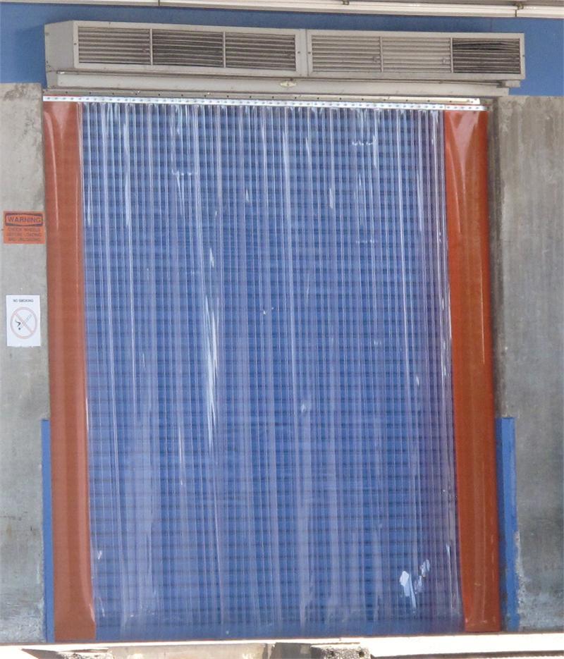 Orange PVC Strip Curtain Rolls  Orange Vinyl Strip