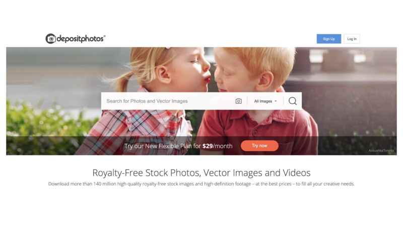 DepositPhotos royalty-free images