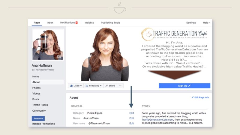 How to switch FB Page Public Figure, Step 4
