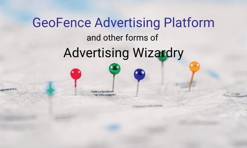 GeoFence advertising platform data