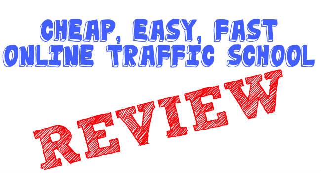 Cheapest Easiest Online Traffic School California