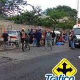 Moto taxi accidente Tráfico ZMG