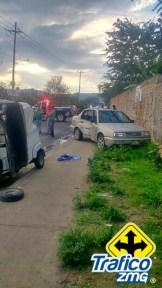 Trafico ZMG, Accidente Mototaxi