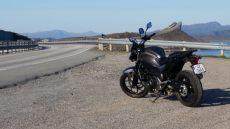 Fra Sikkerhetskurs på vei med motorsykkel på Atlanterhavsvegen