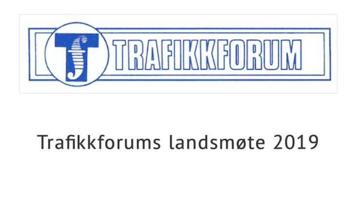 Trafikkforums Landsmøte 2019