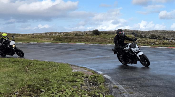 Endringer i føreropplæring MC – Kurs i presis kjøreteknikk