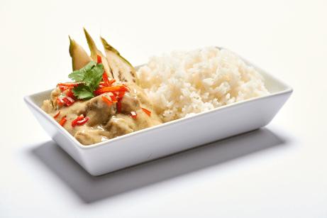 泰式青咖哩雞肉飯