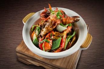 群芳 - Stir-Fried Black Bean Lobster