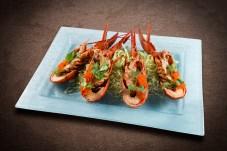 群芳 - Teppan Lobster with Garlic Herb Butter and Shrimp Roe
