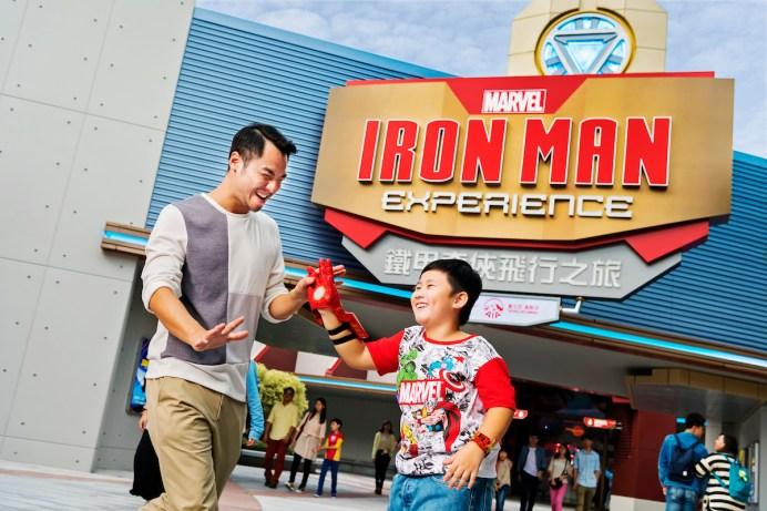 Hong Kong Disneyland_Iron Man Experience_Entrance_with model (2)
