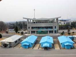 朝鮮 開城板門店
