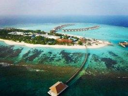 Movenpick Resort Kuredhivaru Maldives - Aerial View