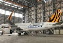 灣虎航第一架,也是國內第一架的A320neo客機