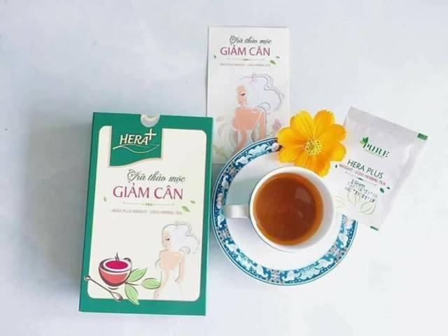 trà giảm cân hera an toàn khoa học