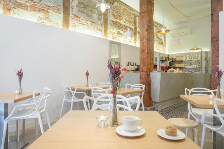 Restaurantes de moda Madrid con menú saludable