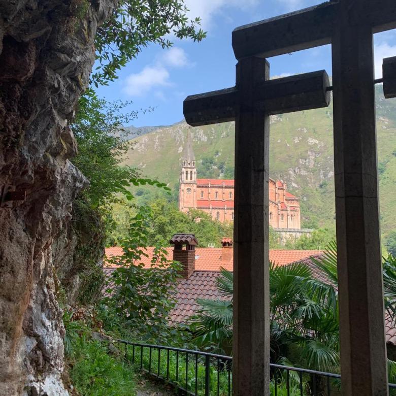 Vista desde Cueva de Covadonga
