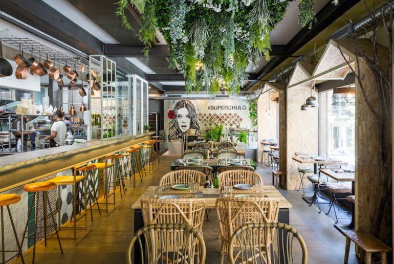 Restaurante saludable. Madrid Superchulo