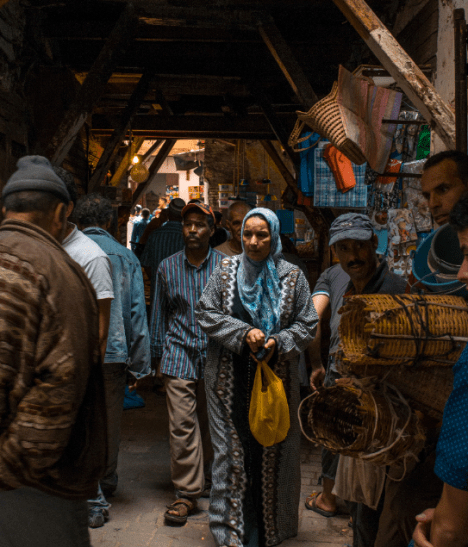 La Medina de Fez y una de sus 9000 callejuelas
