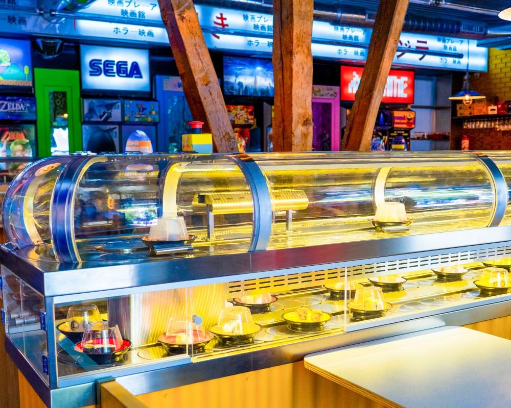 Restaurante Running Sushi in Osaka (Madrid)