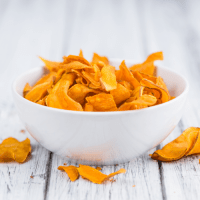 Chips de boniato morunas