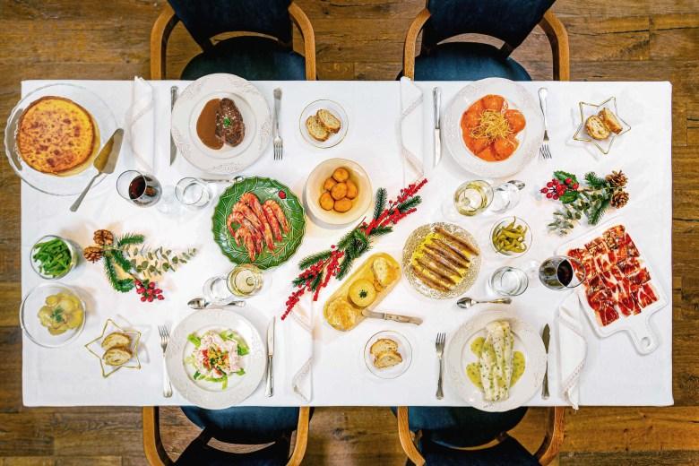 Cena a domicilio para Navidad de La Ancha