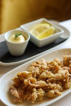 rabas de calamar de restaurante berlanga