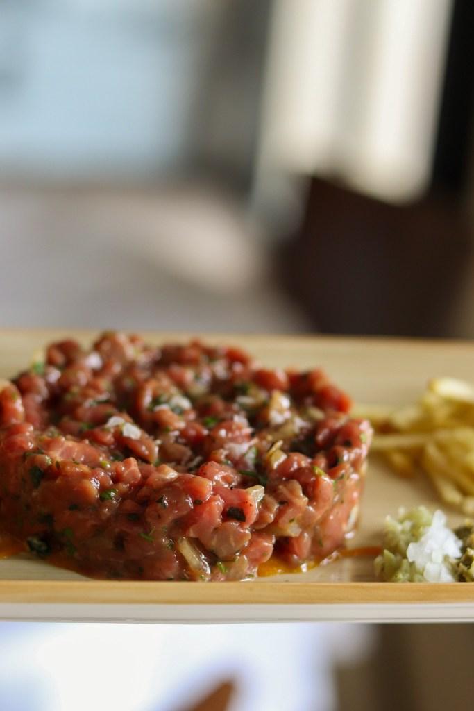 steak tartar de restaurante berlanga