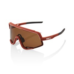 100% Glendale Brille soft tact bordeaux