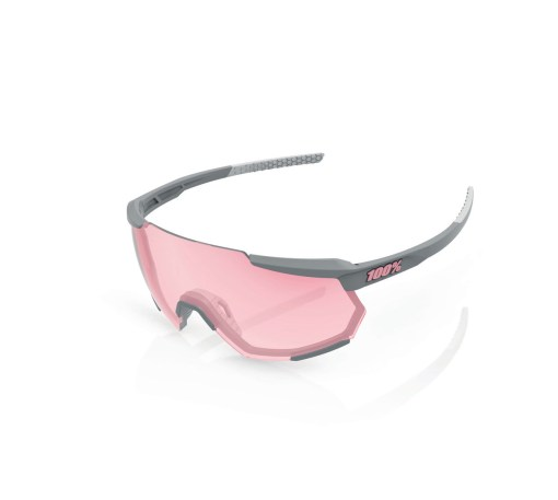 100% Racetrap Brille soft tact stone grey