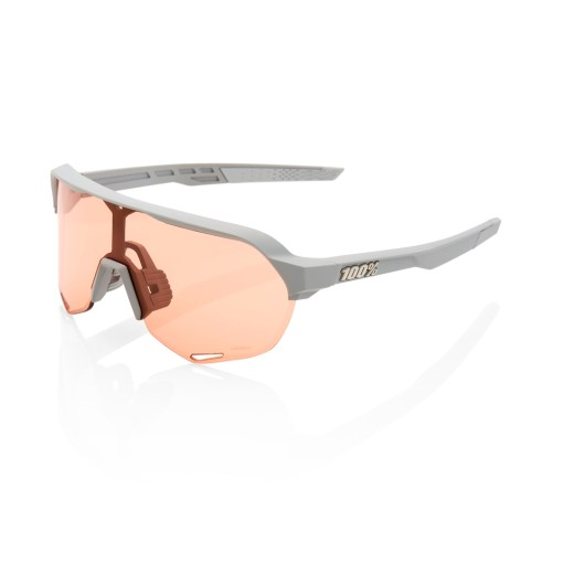 100% S2 Brille soft tact stone grey