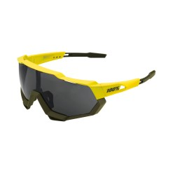100% Speedtrap Brille soft tact banana