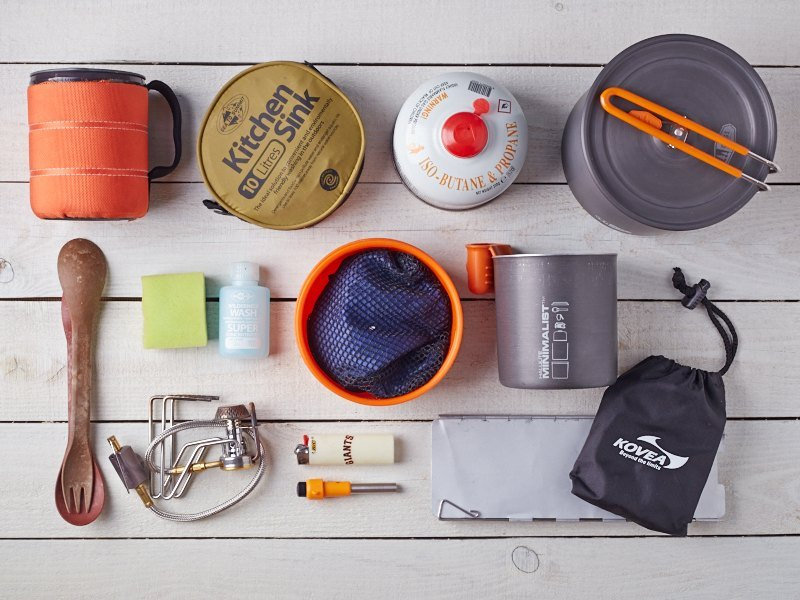 Gear List Backpacking Kitchen Set For Two  Trail Recipes