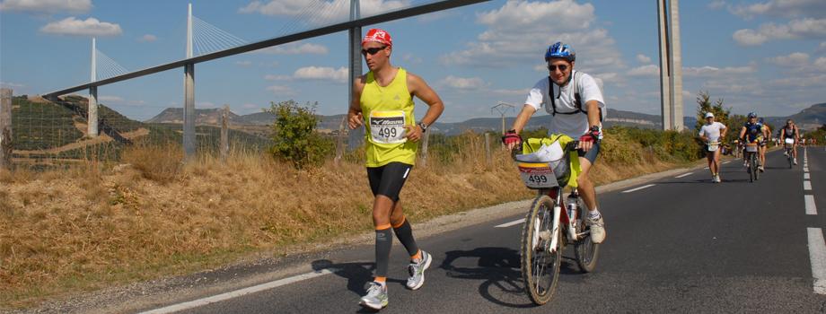 Les 100 km de Millau - la course