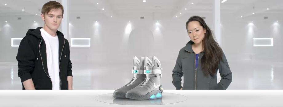 Nike Mag, les chaussures de retour vers le futur...