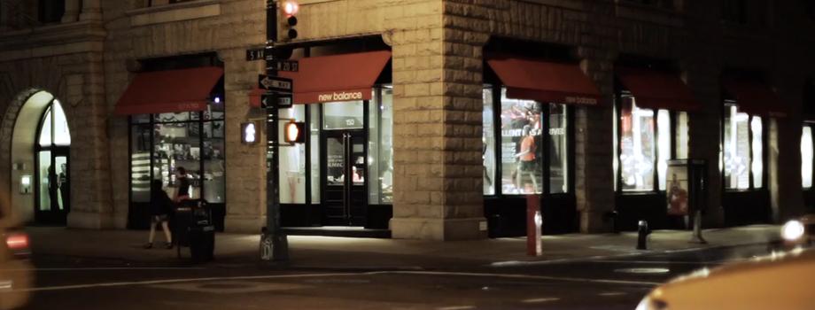 La boutique de New Balance à New York