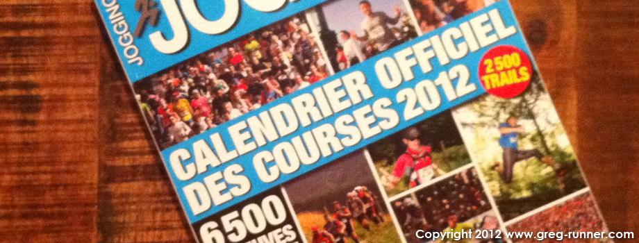 Programme des courses 2012