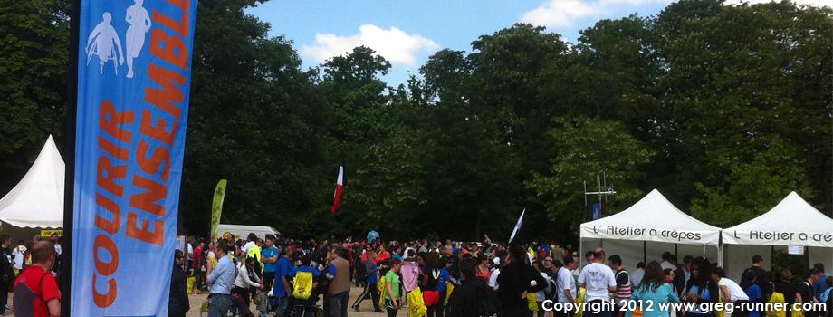 Le 10km de Courir Ensemble - Handicap International