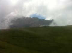 Décor du Quechua Trail des Fiz