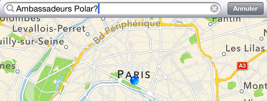 Polar: Track Down RC3 GPS