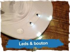 Casquette Lampe Kalenji: Leds & bouton