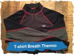 Mizuno: t-shirtBreath Thermo